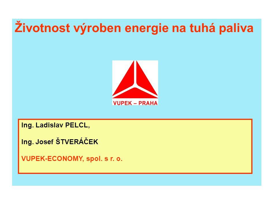 Životnost výroben energie na tuhá paliva
