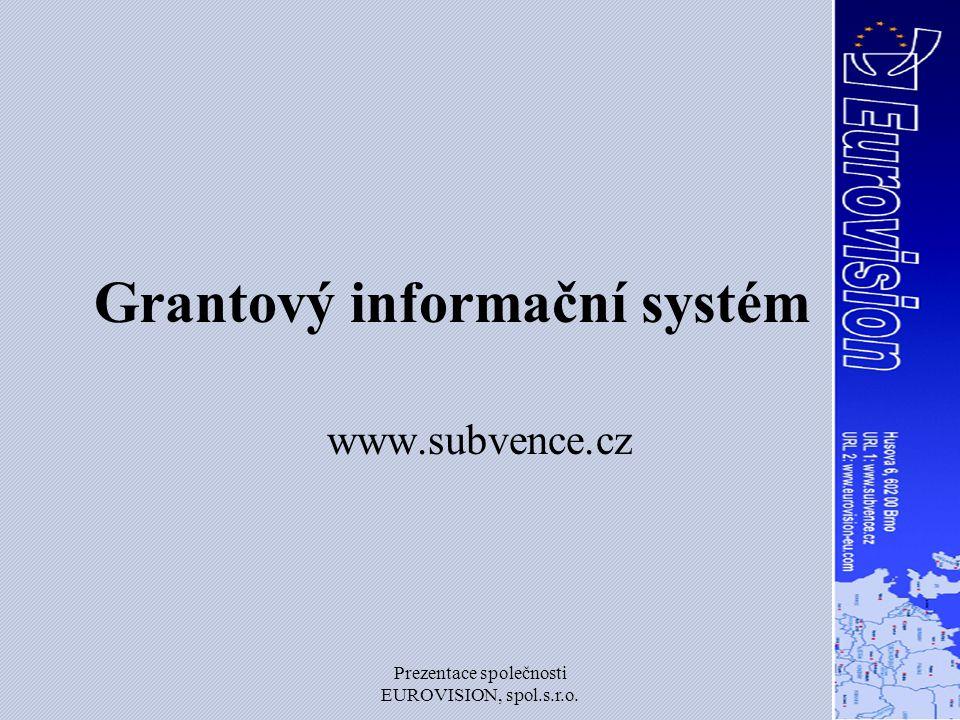 Grantový informační systém
