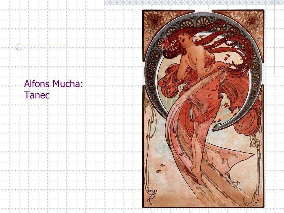 Alfons Mucha: Tanec