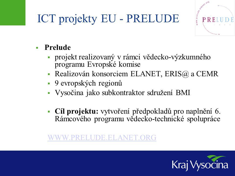 ICT projekty EU - PRELUDE