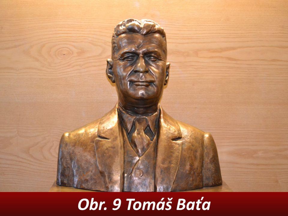 Obr. 9 Tomáš Baťa