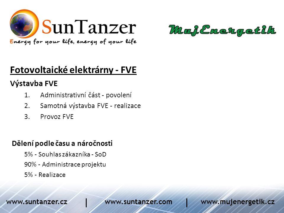 Fotovoltaické elektrárny - FVE
