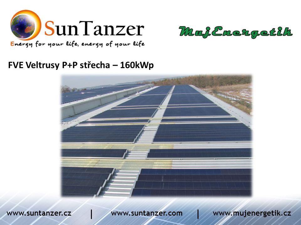 FVE Veltrusy P+P střecha – 160kWp