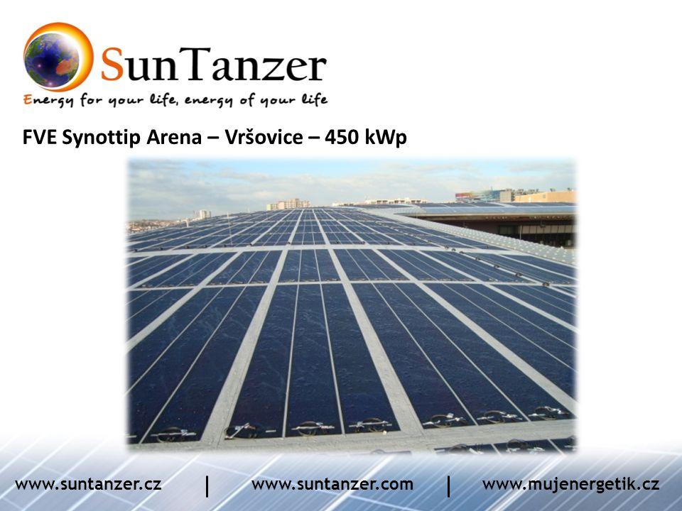 FVE Synottip Arena – Vršovice – 450 kWp