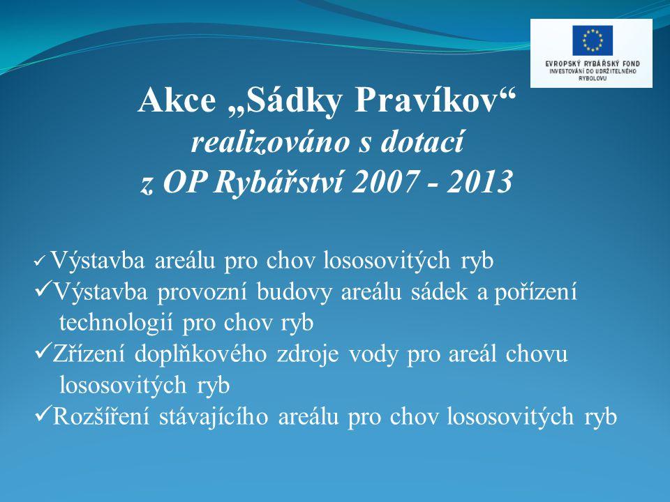 """Akce """"Sádky Pravíkov realizováno s dotací"""
