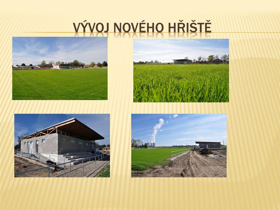Vývoj nového hřiště