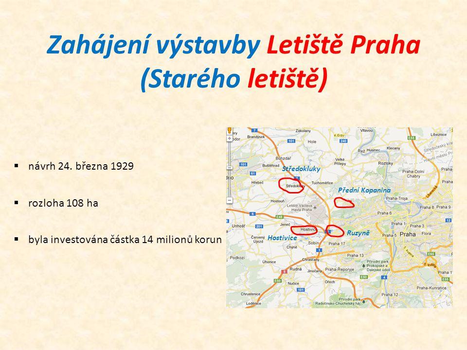 Zahájení výstavby Letiště Praha