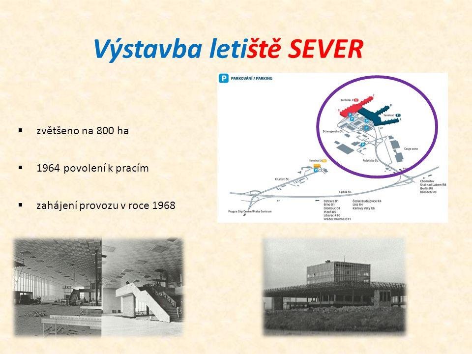 Výstavba letiště SEVER