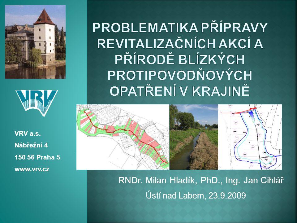 RNDr. Milan Hladík, PhD., Ing. Jan Cihlář
