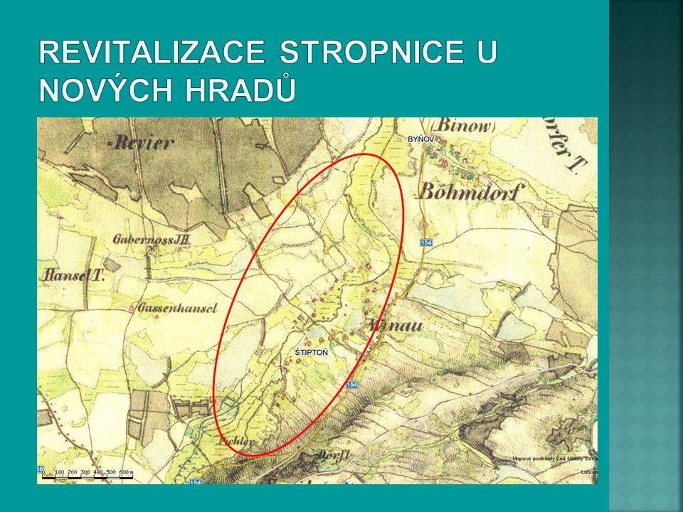 Revitalizace Stropnice u Nových Hradů
