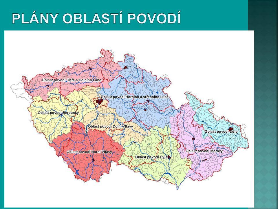 Plány oblastí povodí