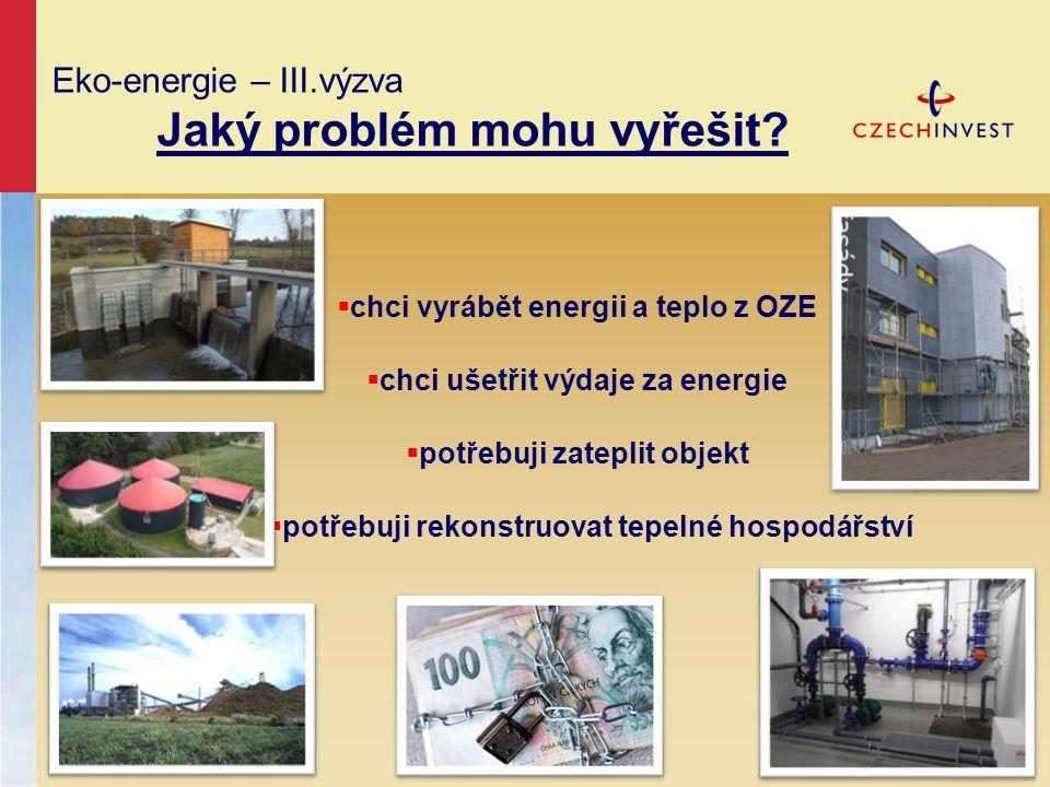 Eko-energie – III.výzva Jaký problém mohu vyřešit