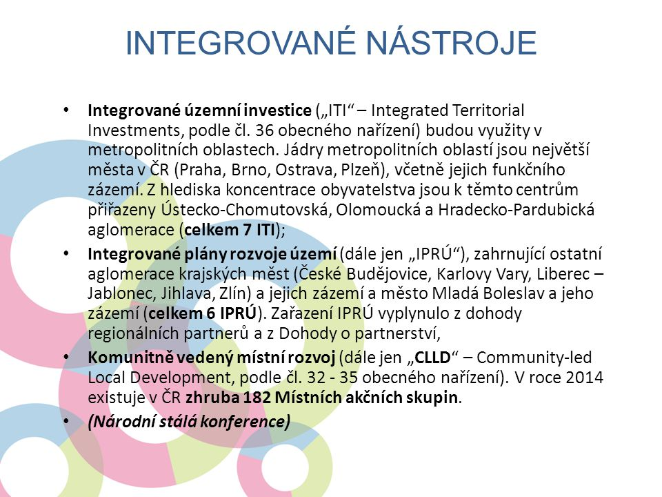 Integrované nástroje