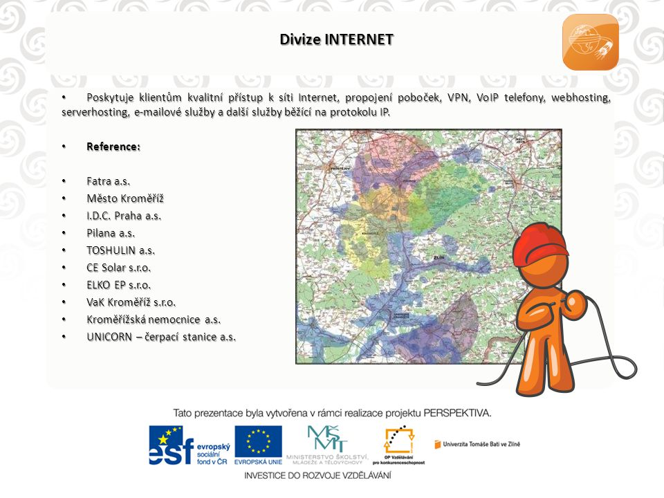 Divize INTERNET