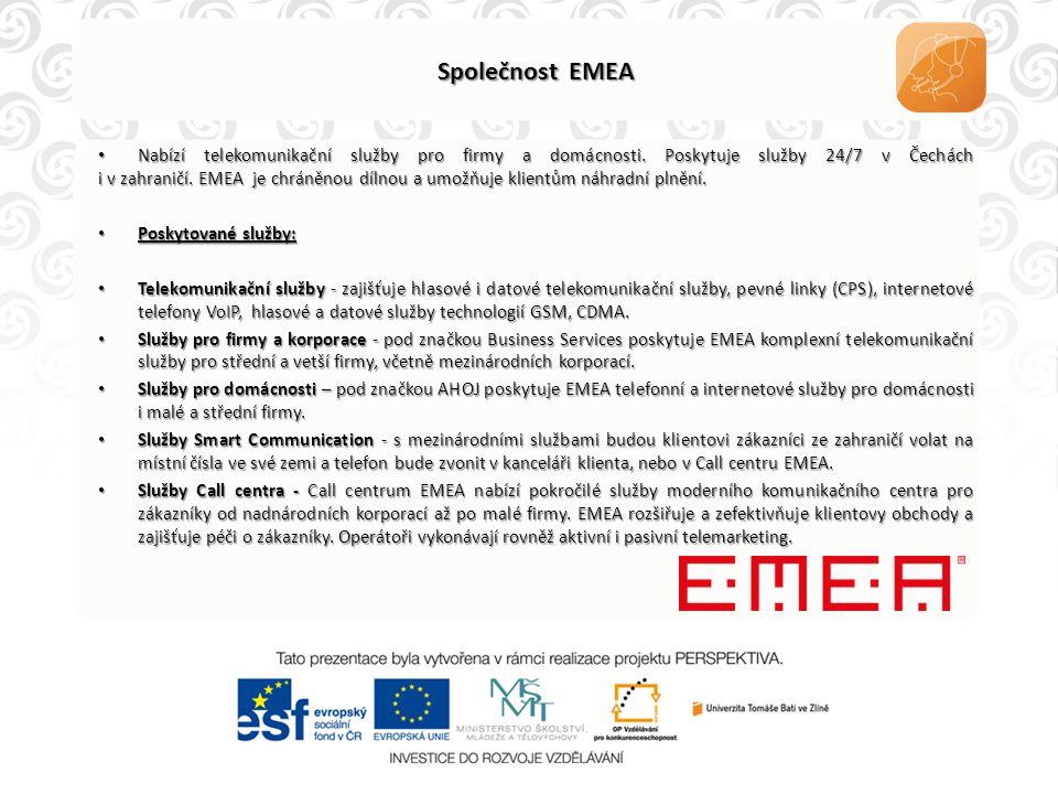 Společnost EMEA
