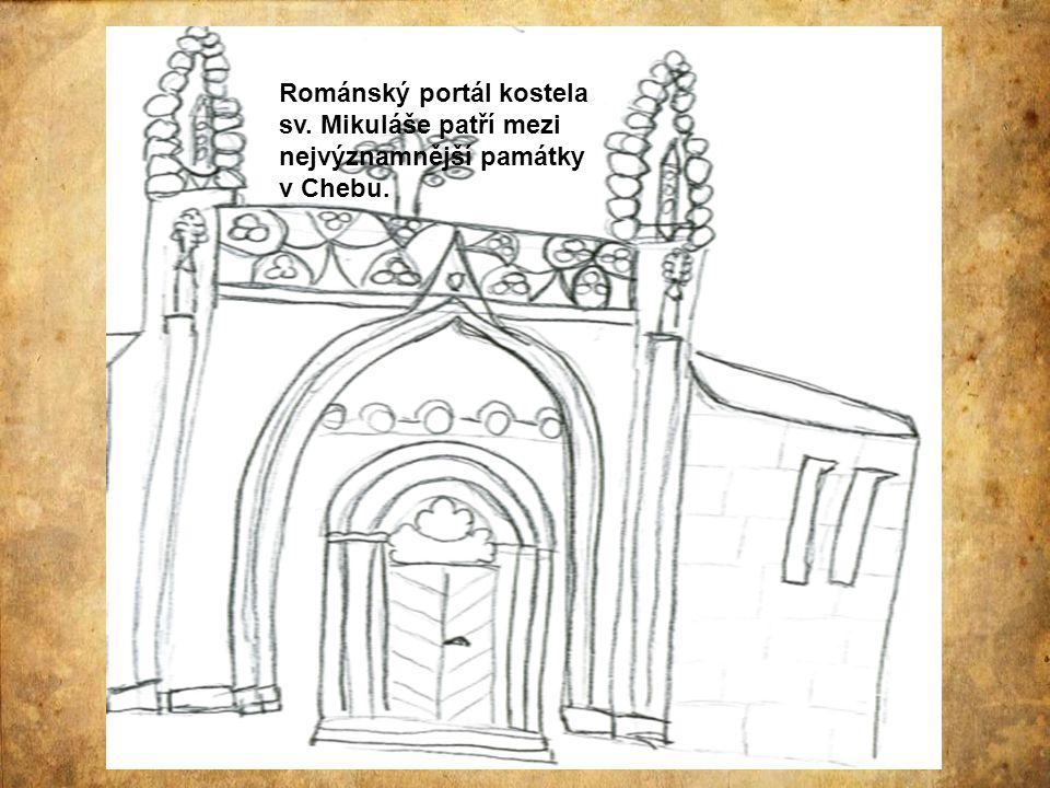 Románský portál kostela