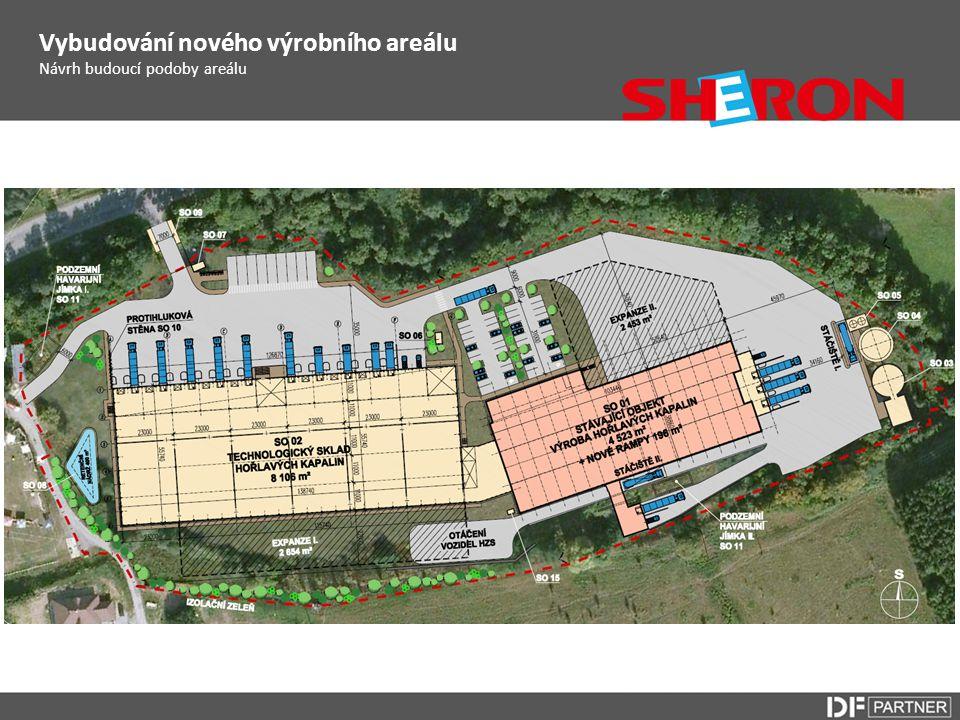 Vybudování nového výrobního areálu