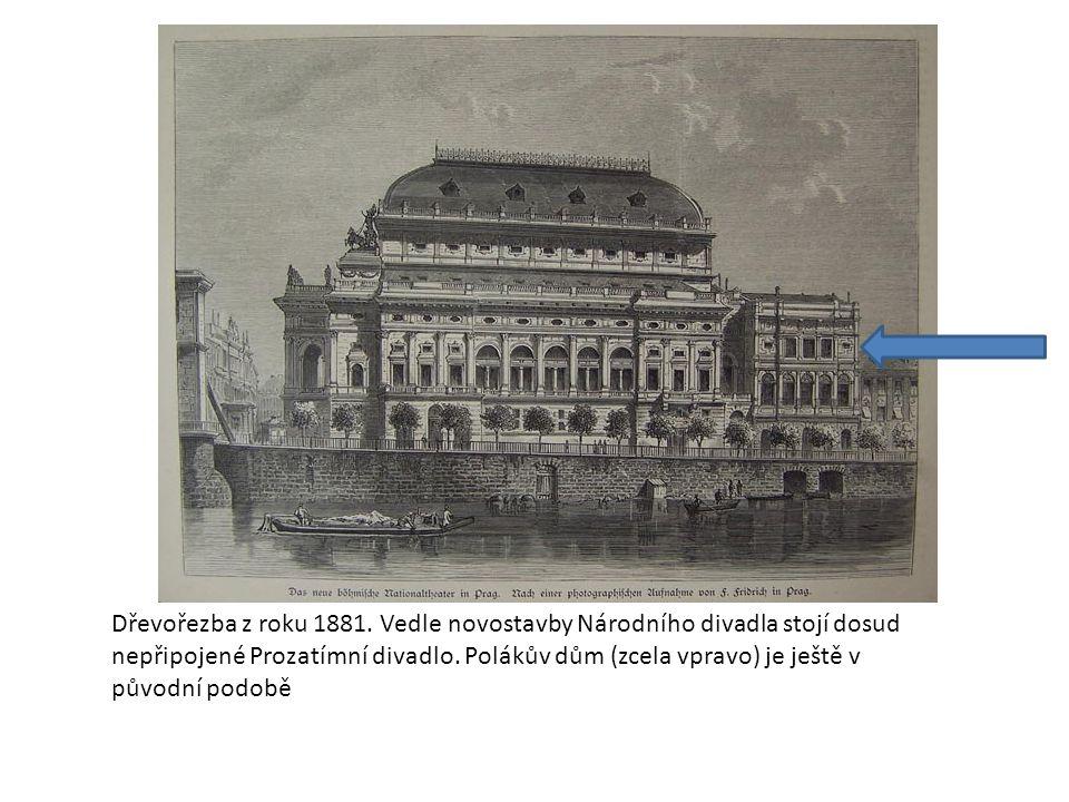 Dřevořezba z roku 1881.