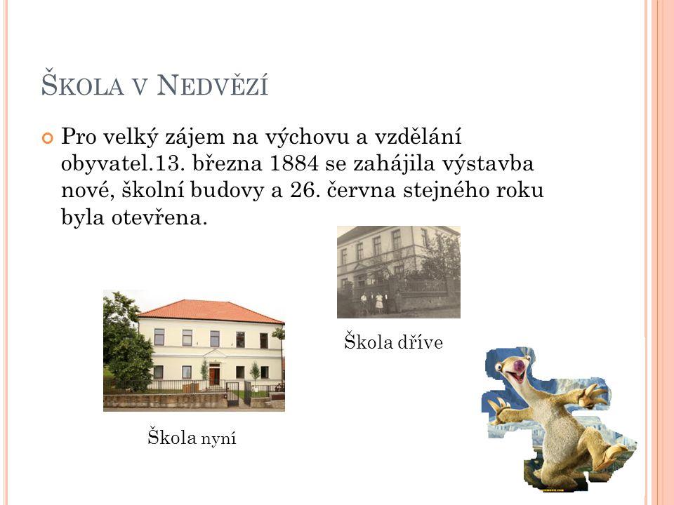 Škola v Nedvězí