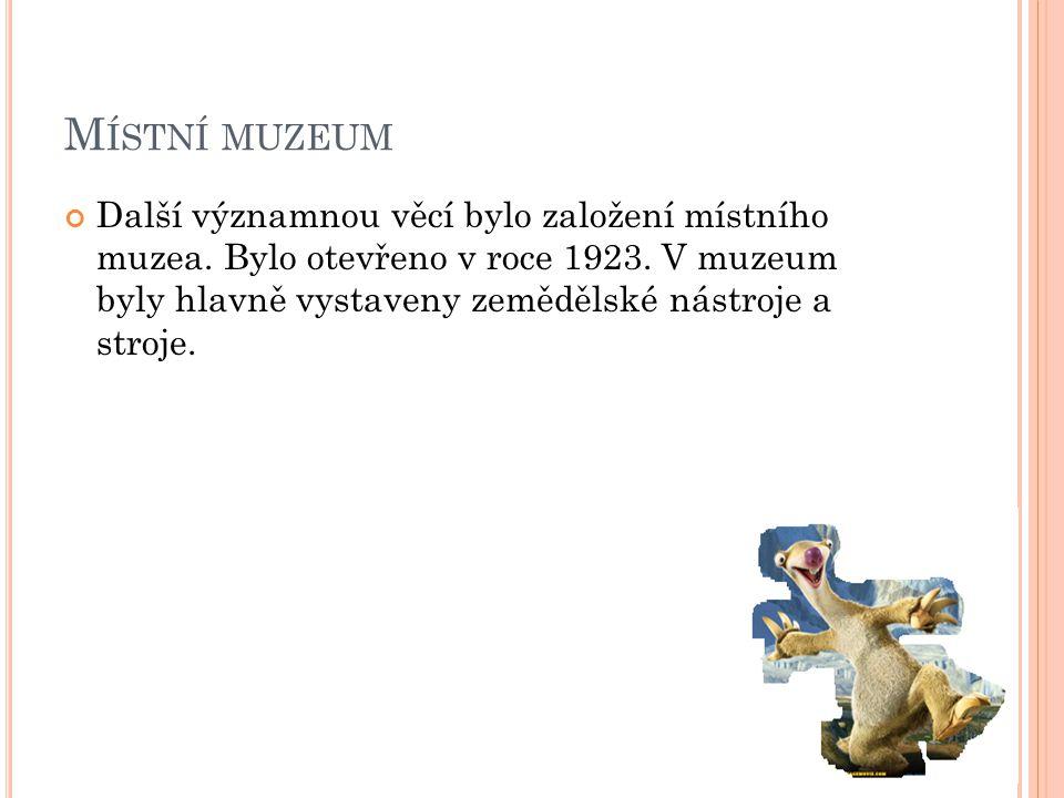 Místní muzeum