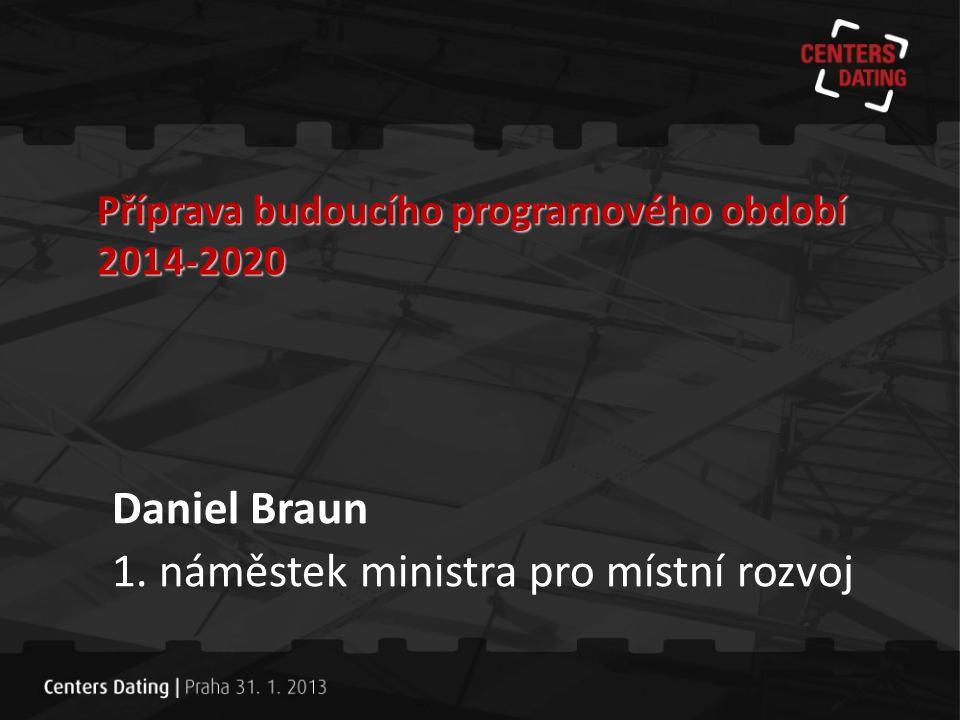 1. náměstek ministra pro místní rozvoj