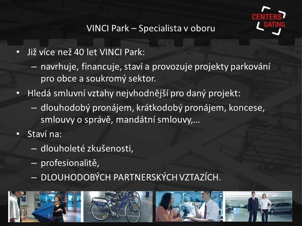 VINCI Park – Specialista v oboru