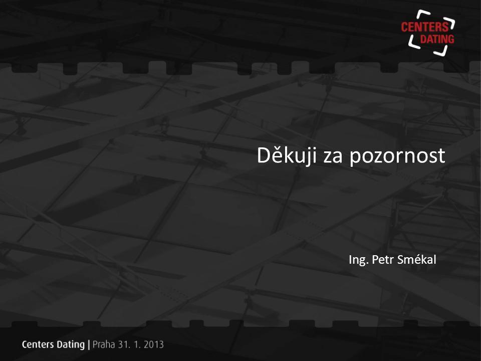 Děkuji za pozornost Ing. Petr Smékal