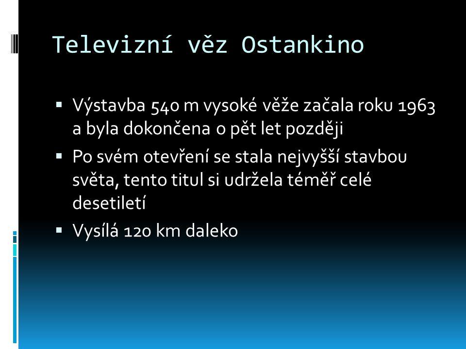 Televizní věz Ostankino