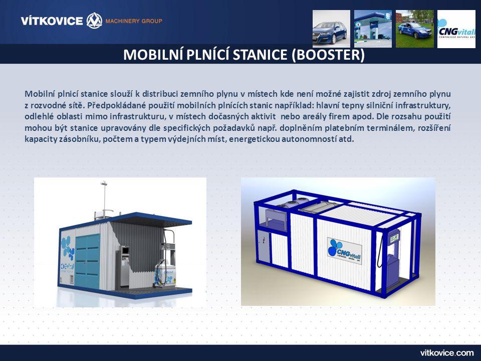 MOBILNÍ PLNÍCÍ STANICE (BOOSTER)