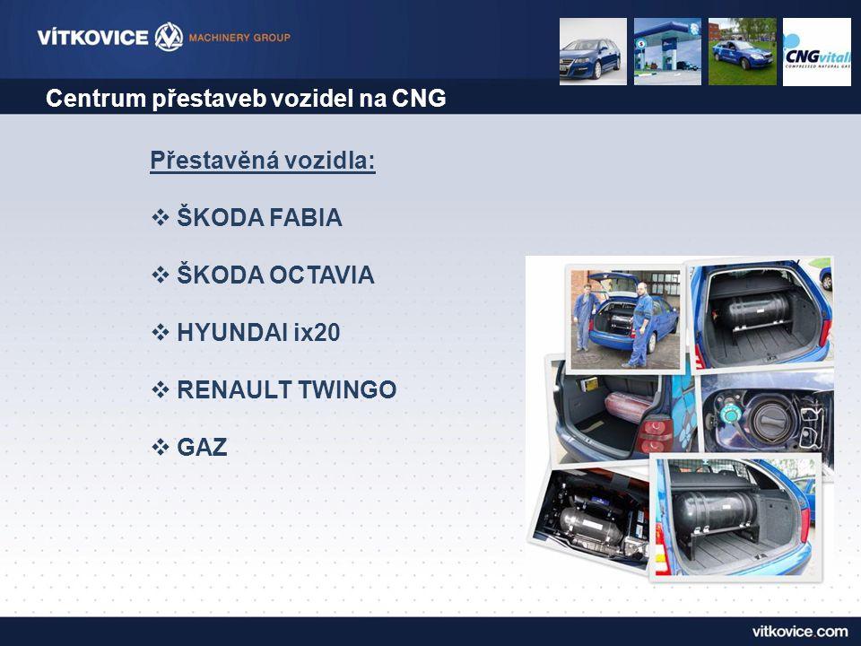 Centrum přestaveb vozidel na CNG