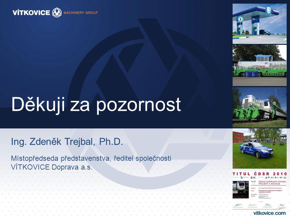 Děkuji za pozornost Ing. Zdeněk Trejbal, Ph.D.