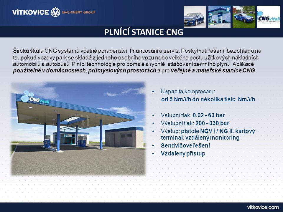 PLNÍCÍ STANICE CNG