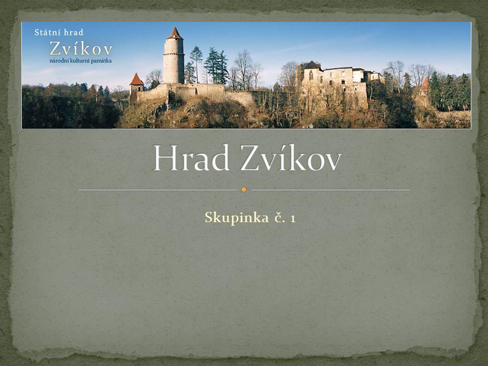 Hrad Zvíkov Skupinka č. 1