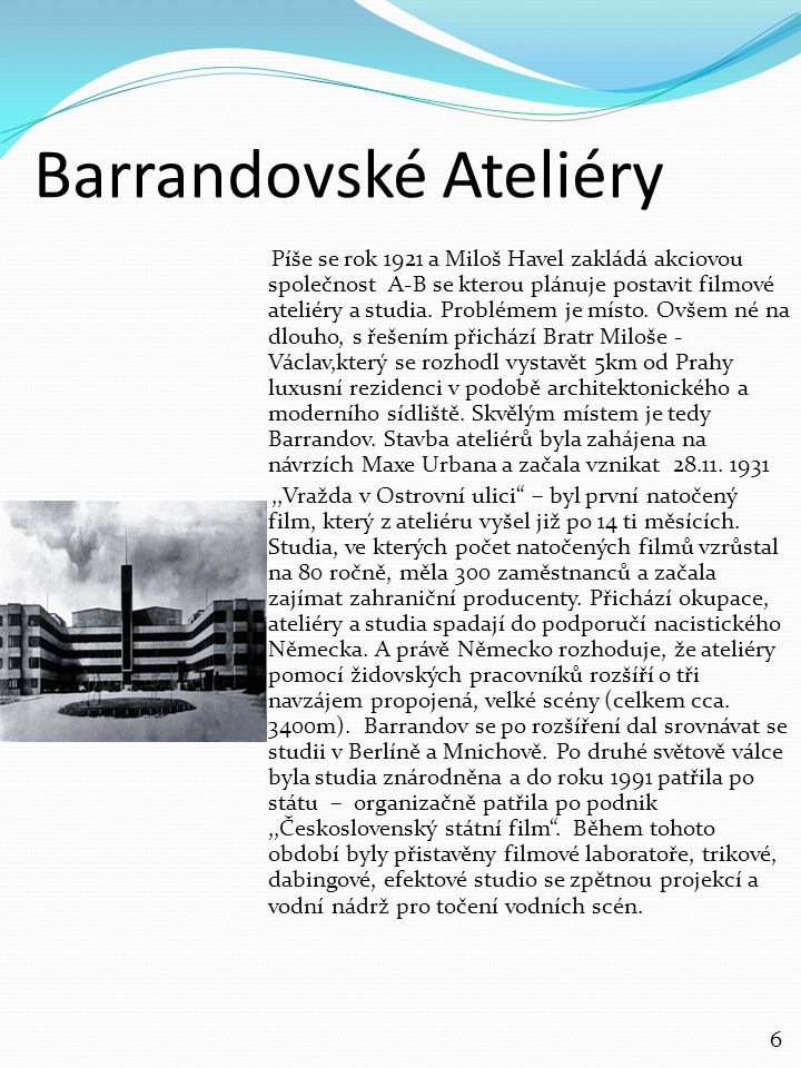 Barrandovské Ateliéry