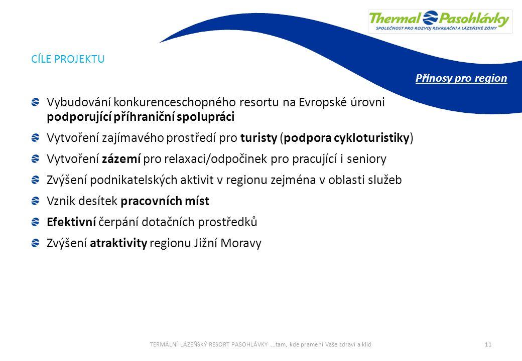 Vytvoření zajímavého prostředí pro turisty (podpora cykloturistiky)