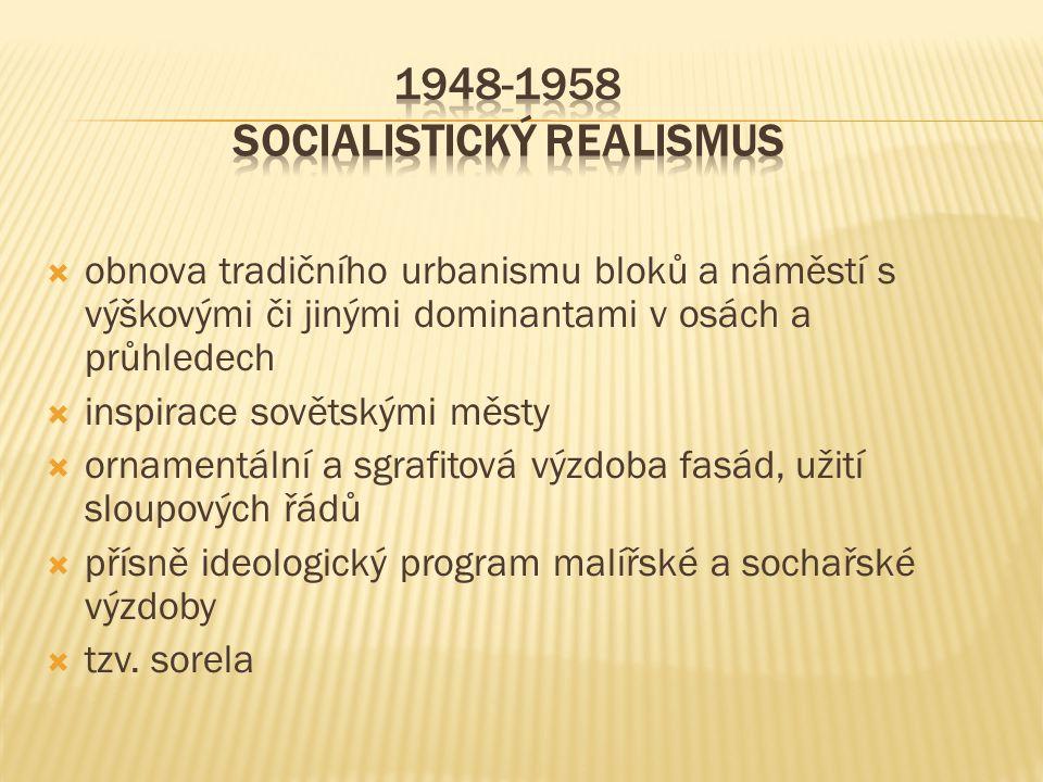 1948-1958 Socialistický realismus