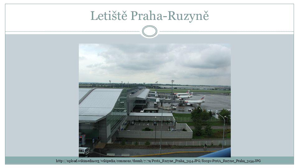 Letiště Praha-Ruzyně http://upload.wikimedia.org/wikipedia/commons/thumb/7/7a/PrstA_Ruzyne_Praha_3154.JPG/800px-PrstA_Ruzyne_Praha_3154.JPG.