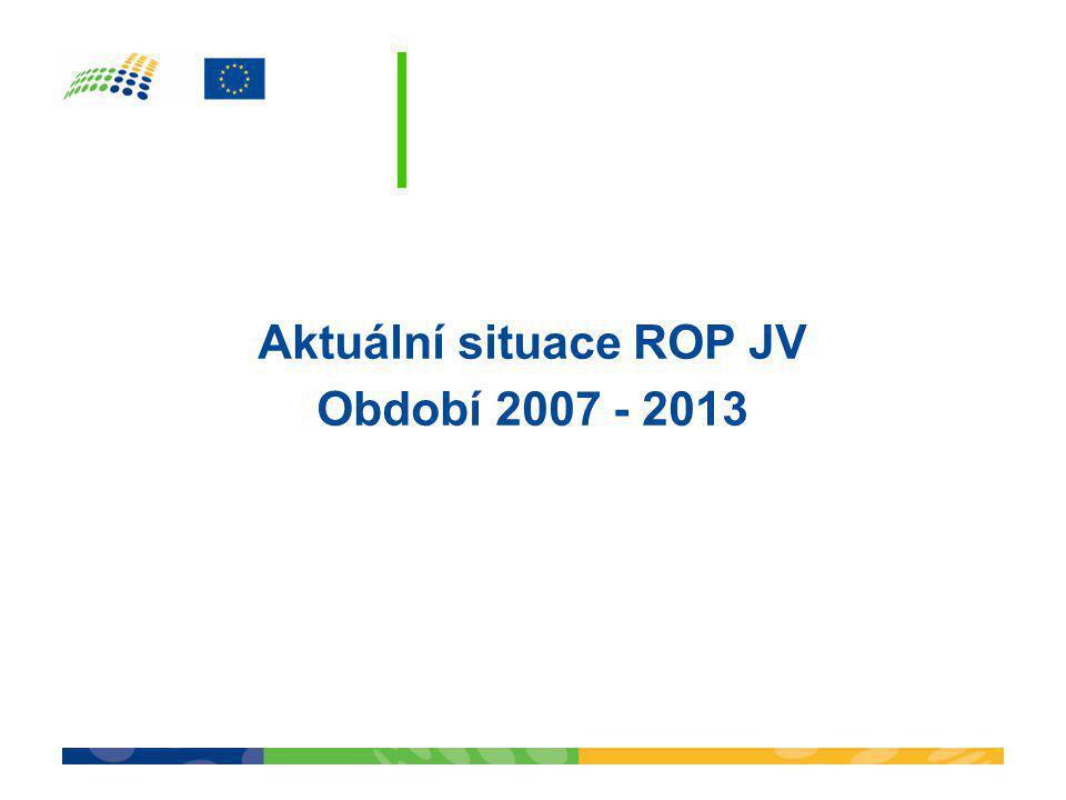 Aktuální situace ROP JV