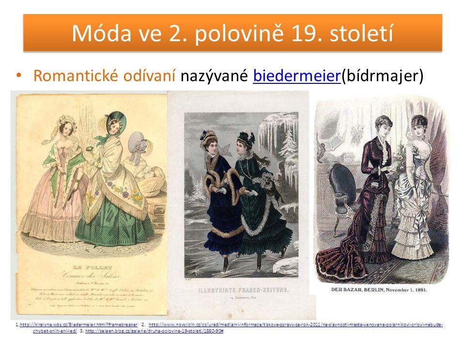 Móda ve 2. polovině 19. století