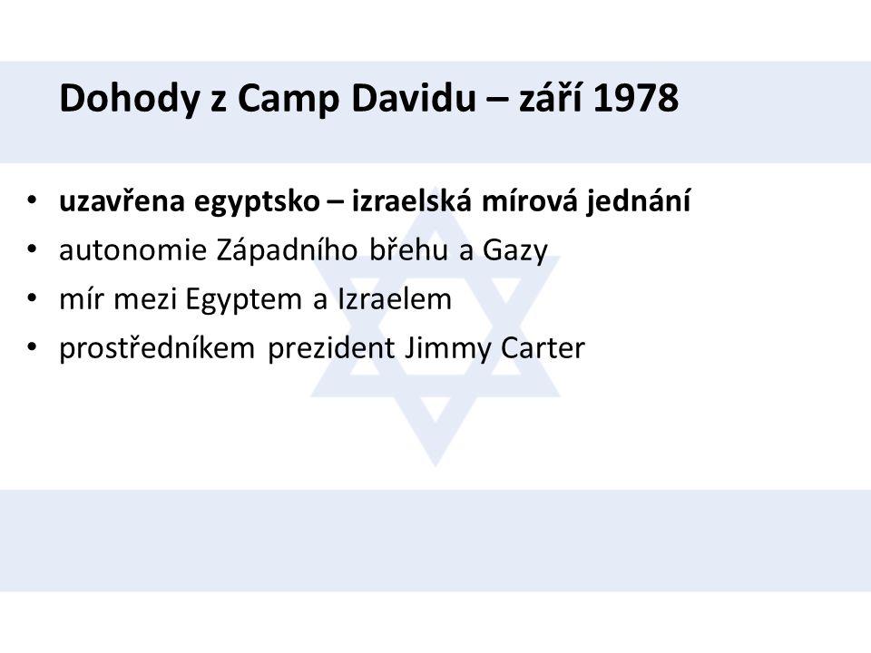 Dohody z Camp Davidu – září 1978