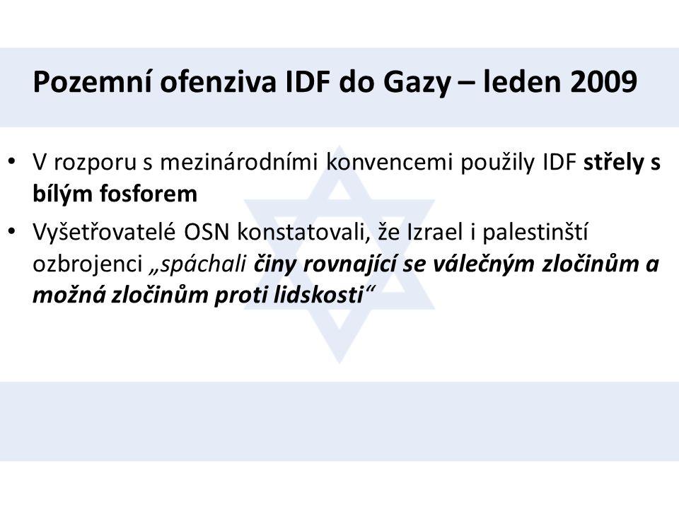 Pozemní ofenziva IDF do Gazy – leden 2009