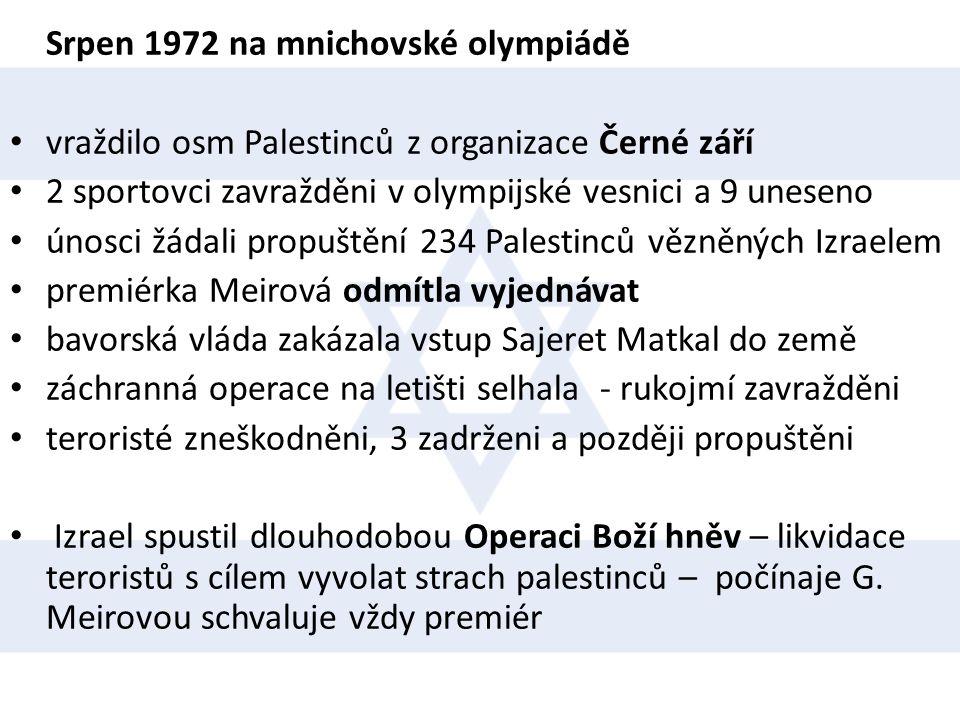 Srpen 1972 na mnichovské olympiádě
