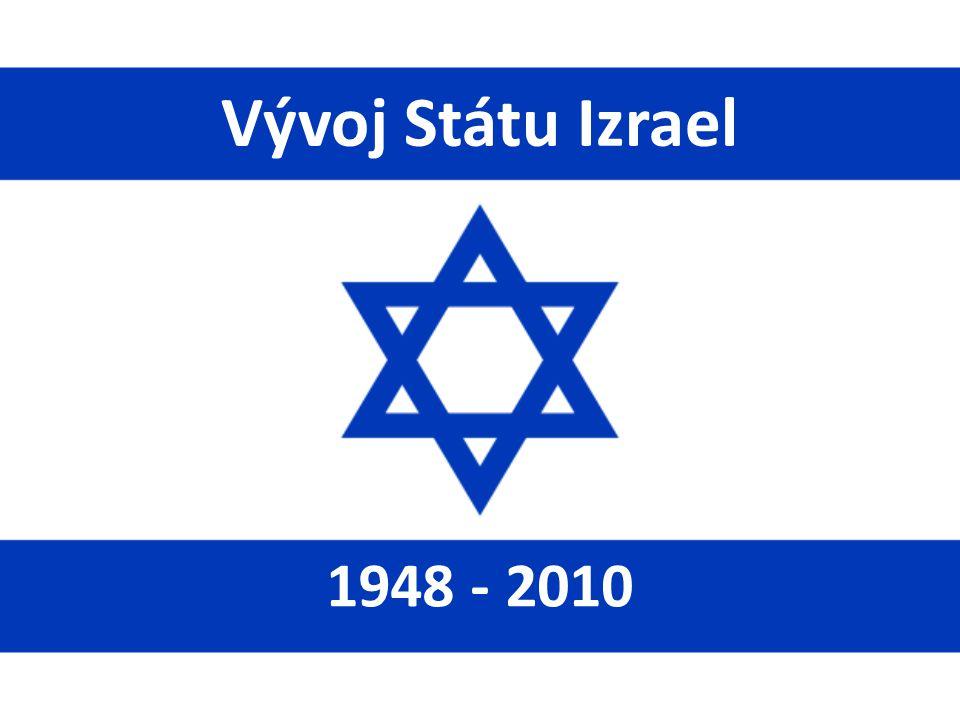 Vývoj Státu Izrael 1948 - 2010