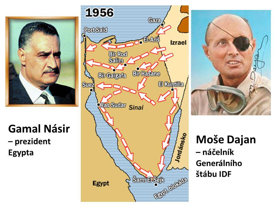 Gamal Násir – prezident Egypta