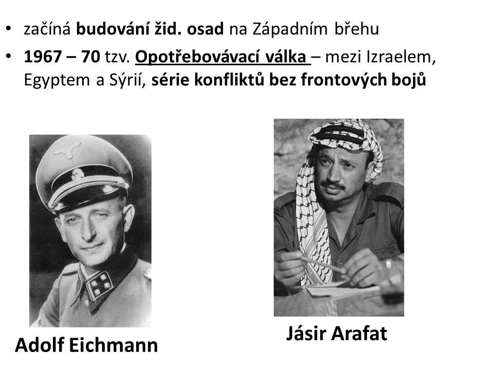 Jásir Arafat Adolf Eichmann