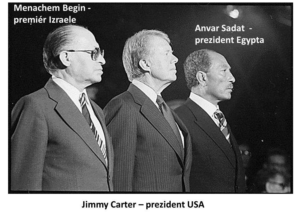 Menachem Begin - premiér Izraele