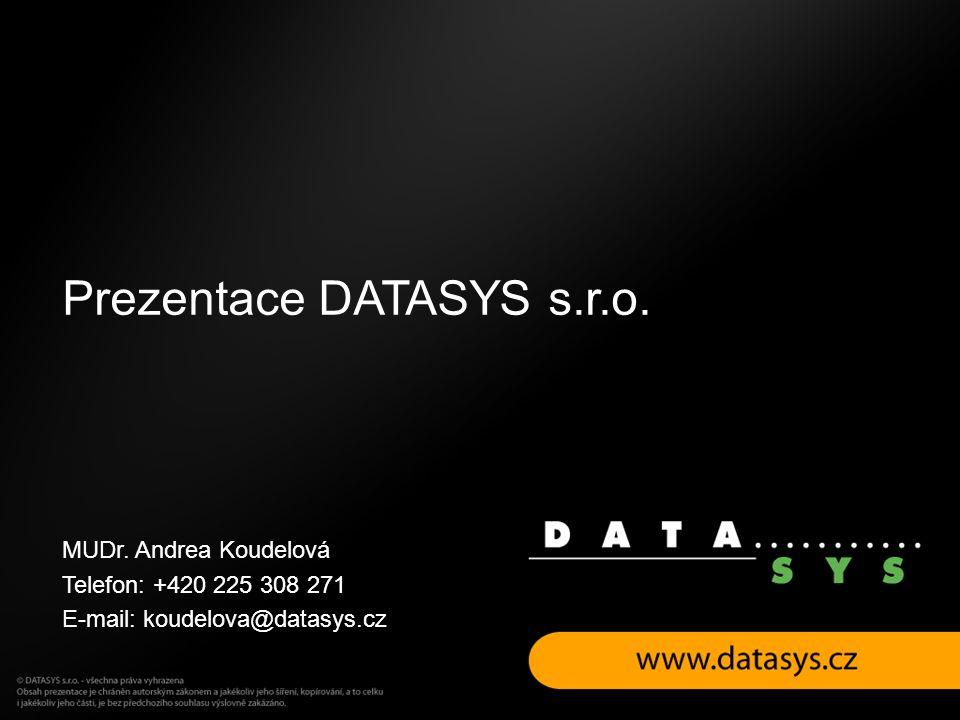 Prezentace DATASYS s.r.o.