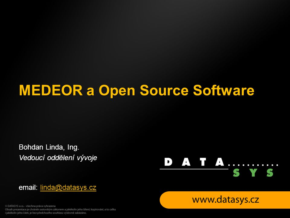 MEDEOR a Open Source Software
