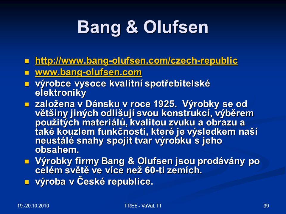 Bang & Olufsen http://www.bang-olufsen.com/czech-republic
