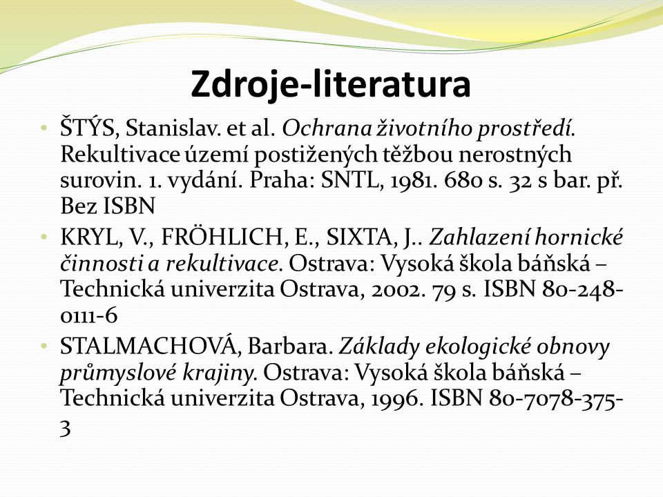 Zdroje-literatura